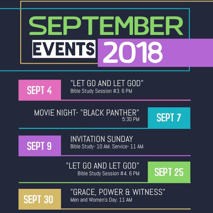 tlc september calendar